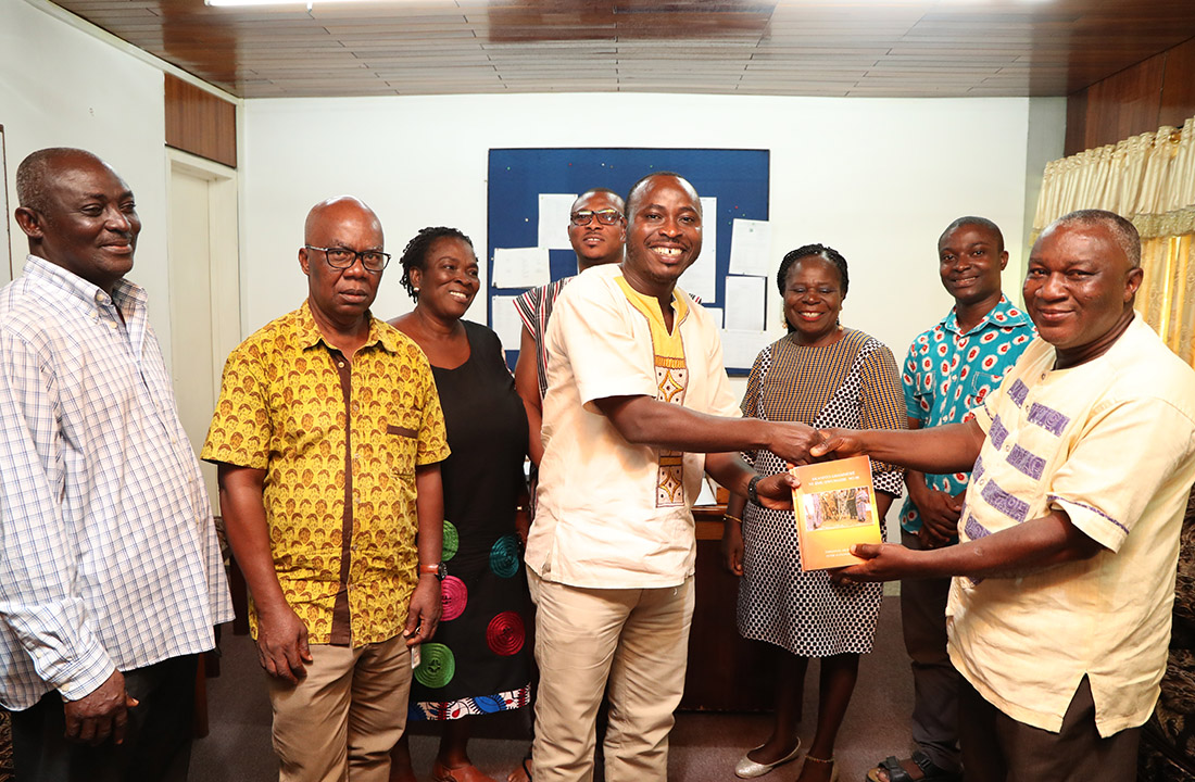 Presentation of Books to Department of Ghanaian Languages and Linguistics