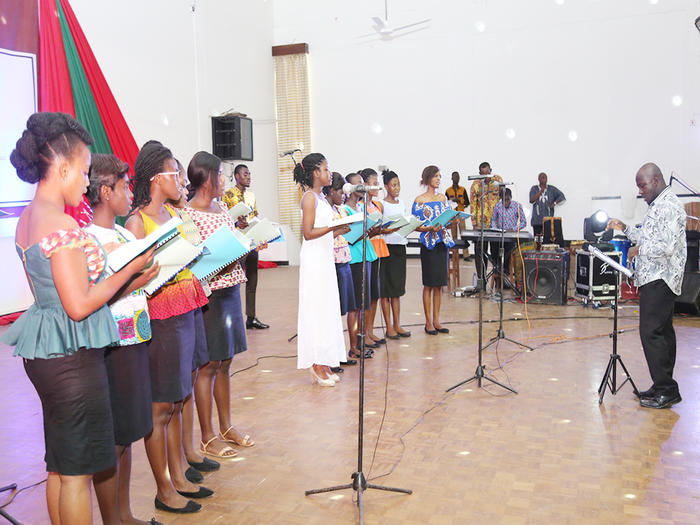 Performance at the Carols Service